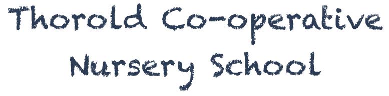 Thorold Co-operative Nursery School Logo